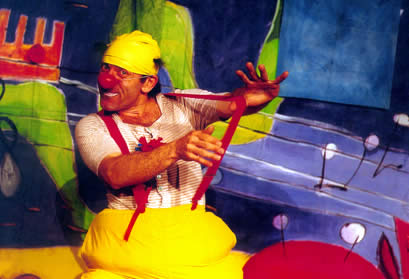 L'avventura del Clown Beppo nel mare dei pesci canterini